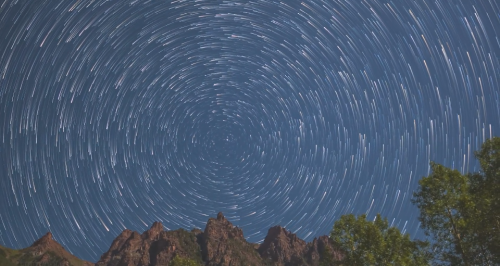 Meteor Showers Timelapse