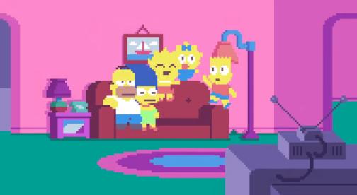 Simpsons-pixel